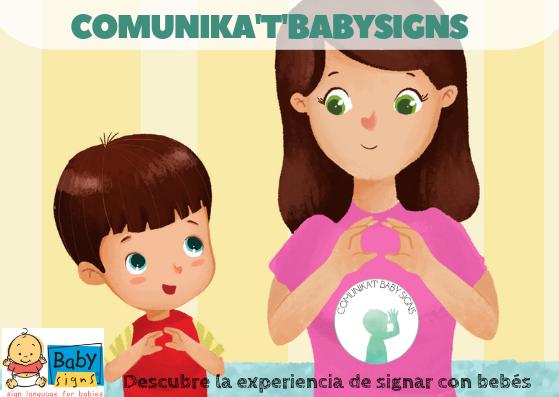 ÚNETE A LA COMUNIDAD COMUNIKAT BABY SIGNS